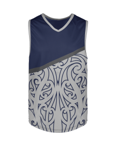 Kids Touch Rugby Singlet - Pattern 11